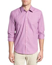 Jeremy Argyle Nyc - Slim Fit Gingham Sport Shirt - Lyst