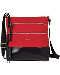 Lodis - 'Wanda' Nylon & Leather Crossbody Bag - Lyst