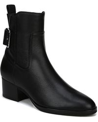 Via Spiga - Octavia Leather Buckle Boot - Lyst