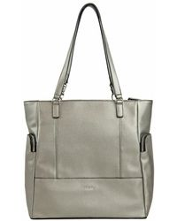 Perlina - Isabelle Leather Tote - Lyst