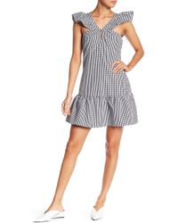 Romeo and Juliet Couture - Gingham Ruffle Dress - Lyst
