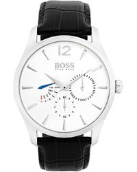 BOSS - Men's Commander Quartz Watch, 44mm - Lyst