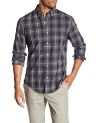 Bonobos - Long Sleeve Plaid Print Slim Fit Woven Shirt - Lyst