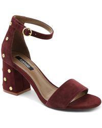 Kensie - Edee Block Heel Sandal - Lyst