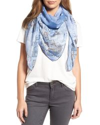 Treasure & Bond - Geo Print Square Scarf - Lyst