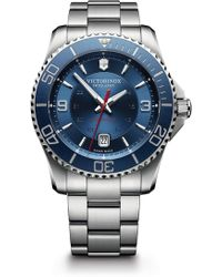 Victorinox - Men's Maverick Automatic Large Bracelet Watch, 43mm - Lyst
