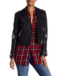 Andrew Marc - Scarlett Asymmetrical Moto Leather Jacket - Lyst