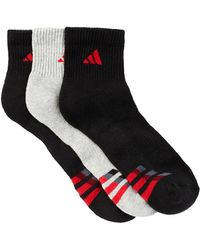 adidas - Climalite Cushioned Crew Socks - Pack Of 3 - Lyst