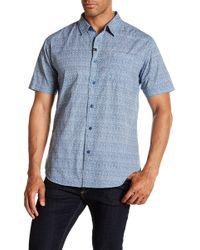 Imperial Motion - Scroll Short Sleeve Woven Shirt - Lyst