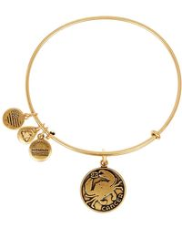 ALEX AND ANI - Cancer Ii Expandable Wire Bangle - Lyst