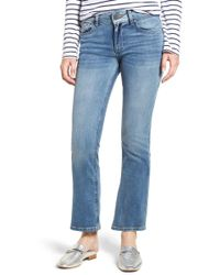 963009f9709 Guess Medium Wash Daredevil Bootcut Jeans in Blue - Lyst
