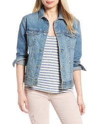 AG Jeans - The Nancy Boyfriend Denim Jacket - Lyst