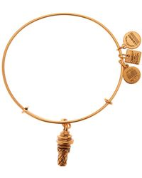 ALEX AND ANI - Charity By Design Sweet Treat Charm Expandable Wire Bangle - Lyst
