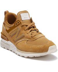 New Balance - 574 Sport Suede Sneaker - Lyst