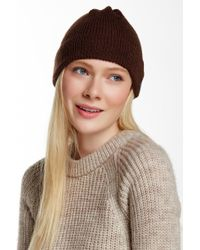 Wooden Ships - Montreal Logo Label Coffee Beanie - Lyst