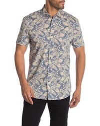 Report Collection - Tropical Print Short Sleeve Shirt - Lyst