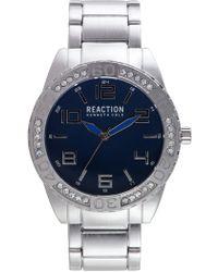 Kenneth Cole Reaction - Men's Analog Cz Quartz Bracelet Watch, 48mm - Lyst