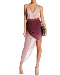 Young Fabulous & Broke - Asymmetrical Ombre Skirt - Lyst