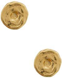 Karine Sultan - Rose Stud Earrings - Lyst