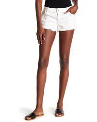 Tractr - Frayed Hem Shorts - Lyst