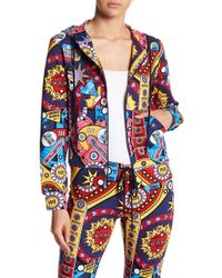 Love Moschino - Tasca Pop Art Zip Hoodie - Lyst
