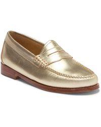 G.H.BASS - Whitney Leather Loafer - Wide Width Available - Lyst