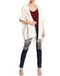 Raga - Gracey Embroidered Kimono - Lyst