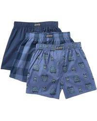 Lucky Brand - Woven Boxer - Pack Of 3 - Lyst
