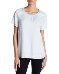 Two By Vince Camuto - Faded Chambray Tee - Lyst