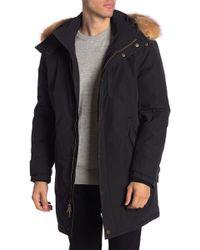Pendleton - Bryce Genuine Racoon Fur Lined Hood Coat - Lyst