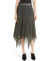 Jason Wu - Plaid Pleated Skirt - Lyst