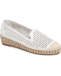 Bella Vita - Channing Cutout Espadrille Loafer - Lyst