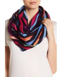 Roffe Accessories | Bright Stripe Infinity Scarf | Lyst