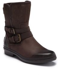 UGG - Simmens Genuine Shearling Lined Waterproof Leather Boot - Lyst