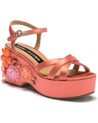857812195cca Lyst - Donald J Pliner Donald J Pliner Shoes Callie Mid Heel Slide ...