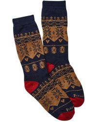 Pendleton - Nordic Camp Wool Blend Crew Socks - Lyst