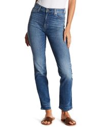 Hudson Jeans - Zooey High Rise Straight Leg Jeans - Lyst