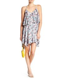 William Rast - Elizabeth Floral Popover Dress - Lyst