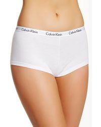 CALVIN KLEIN 205W39NYC - Logo Boyshort Underwear - Lyst