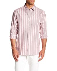 Tommy Bahama - Safi Stripe Original Fit Long Sleeve Shirt - Lyst