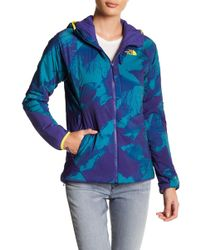 The North Face - Ventrix Printed Hooded Zip Front Jacket - Lyst