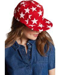 Cara - Star Baseball Cap - Lyst