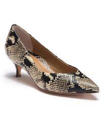 2cc3f801a4da Lyst - Public Desire Josie Rose Gold Court Shoes in Metallic