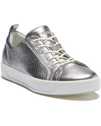 Ecco - Soft 8 Summer Tie Sneaker - Lyst