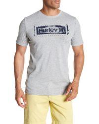 Hurley - Roller Crew Neck Graphic Tee - Lyst