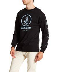 Volcom - Lofty Graphic Long Sleeve Shirt - Lyst
