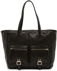 Vince Camuto - Delos Leather Tote - Lyst
