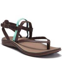 Chaco - Loveland Leather Sandal - Lyst