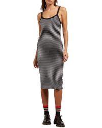 Volcom - Rave New World Stripe Dress - Lyst