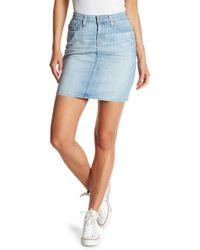 Big Star - Kara Denim Skirt - Lyst